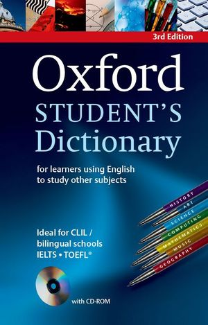 OXFORD STUDENT'S DICTIONARY (3RD ED) MONOLINGUAL B2-C1 LVL