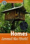 OXFORD READ & DISCOVER. LEVEL 5. HOMES AROUND THE WORLD: AUDIO CD PACK