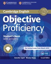 OBJECTIVE PROFICIENCY STUDENT BOOK WITH ANSWERS + DOWNLOADABLE SOFTWARE