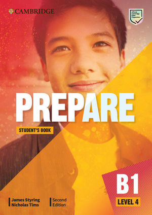 PREPARE SECOND EDITION STUDENT'S BOOK. LEVEL 4