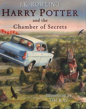 HARRY POTTER AND THE CHAMBER OF SECRETS ILLUSTRATE