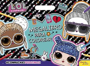 L.O.L. SURPRISE! MEGALIBRO PARA COLOREAR