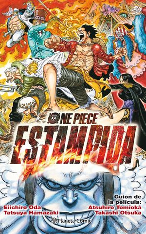 ONE PIECE ESTAMPIDA