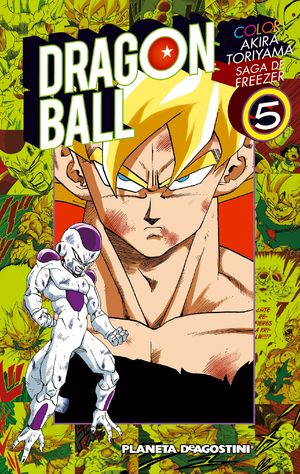 DRAGON BALL COLOR FREEZER Nº5