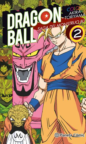 DRAGON BALL COLOR BU Nº 02/06