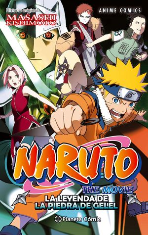 NARUTO ANIME COMIC Nº 03