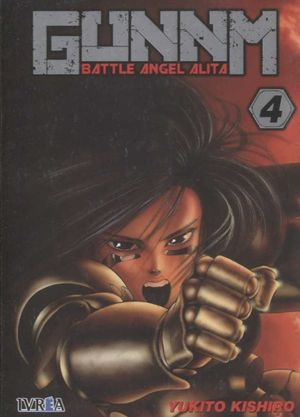 GUNNM (BATTLE ANGEL ALITA) 4