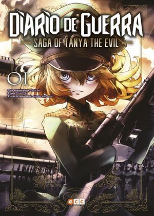 DIARIO DE GUERRA - SAGA OF TANYA THE EVIL NÚM. 01