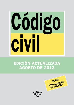 CÓDIGO CIVIL AGOSTO 2013