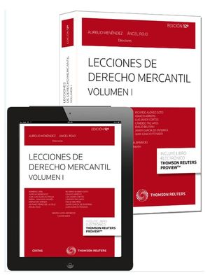 LECCIONES DE DERECHO MERCANTIL VOL I (EBOOK+PAPEL)  12ED   **CIVITAS**