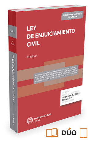LEY DE ENJUICIAMIENTO CIVIL (PAPEL + E-BOOK)