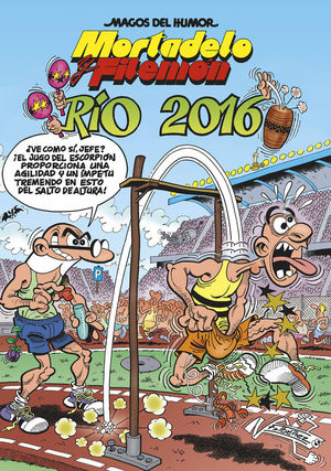 RÍO 2016 - MORTADELO Y FILEMÓN MHM 174