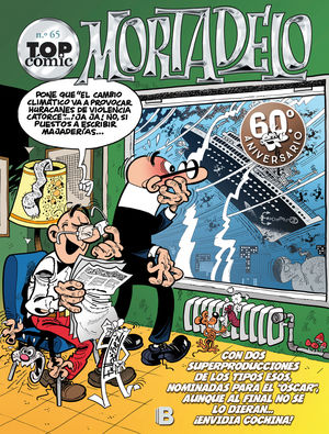 TOP CÓMIC MORTADELO N.º 65. EL CAPO SE ESCAPA