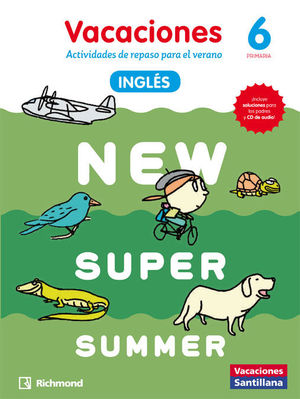 NEW SUPER SUMMER 6º PRIMARIA BOOK + AUDIO