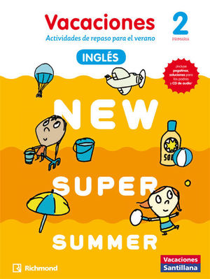 NEW SUPER SUMMER 2º PRIMARIA BOOK + AUDIO