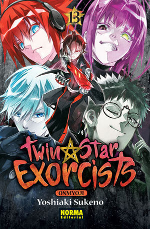 TWIN STAR EXORCISTE ONMYOJI 13
