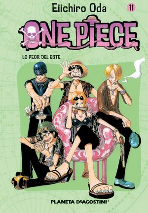 ONE PIECE Nº11
