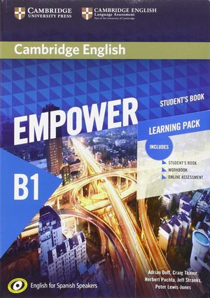 CAMBRIDGE ENGLISH EMPOWER FOR SPANISH SPEAKERS B1 STUDENT'S BOOK WITH ONLINE ASS