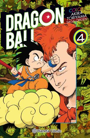 DRAGON BALL COLOR ORIGEN Y RED RIBBON Nº 04/08