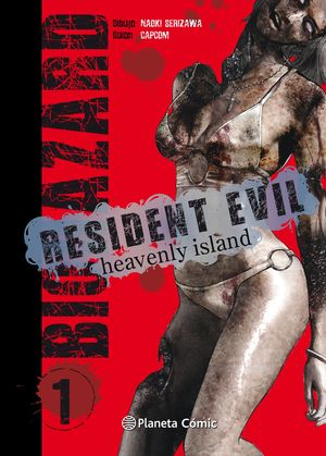 RESIDENT EVIL HEAVENLY ISLAND Nº 01/05