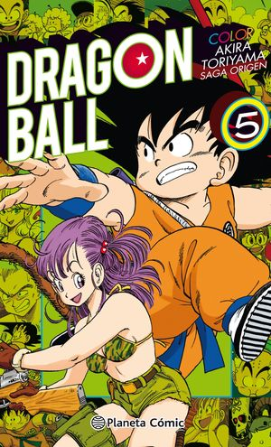 DRAGON BALL COLOR ORIGEN Y RED RIBBON Nº 05/08