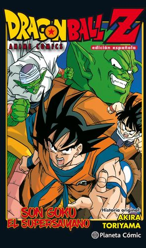DRAGON BALL Z ANIME COMIC GOKU ES UN SUPER SAIYAN