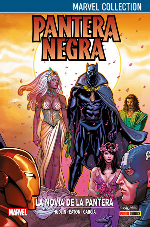 MARVEL COLLECTION PANTERA NEGRA DE REGINALD HUDLIN. LA NOVIA DE LA PANTERA