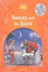 CLASSIC TALES LEVEL 5. BEAUTY AND THE BEAST: PACK 2ND EDITION