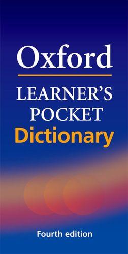OXF. LEARNERS POCKET DICTIONARY 4 ED