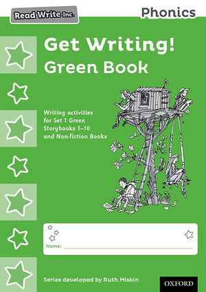 READ WRITE INC. PHONICS: GET WRITING!: GREEN BOOK PACK OF 10