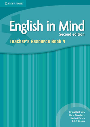 ENGLISH IN MIND LEVEL 4 TEACHER'S RESOURCE BOOK 2ND EDITION