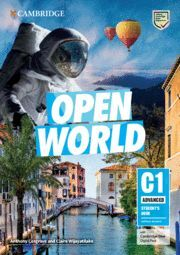 OPEN WORLD ADVANCED C1. STD WITHOUT ANSWERS WITH AUDIO.