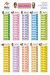 TABLAS DE MULTIPLICAR (LÁMINA)