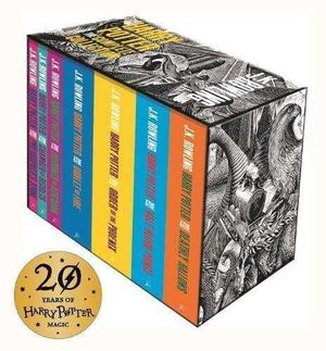 ESTUCHE HARRY POTTER COMPLETO ADULT COLLECTION