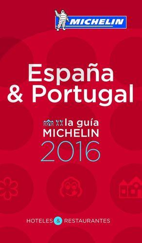 LA GUÍA MICHELIN ESPAÑA & PORTUGAL 2016