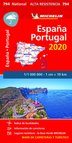 MAPA NATIONAL ESPAÑA - PORTUGAL 2020