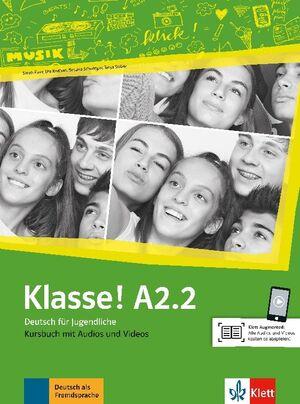 KLASSE! A2.2, LIBRO DEL ALUMNO + AUDIO + VIDEO