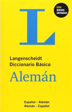DICCIONARIO BÁSICO ALEMÁN-ESPAÑOL / ESPAÑOL-ALEMÁN LANGENSCHEIDT
