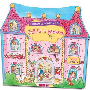 CASTILLO DE PRINCESAS (PEGA PEGATINAS)