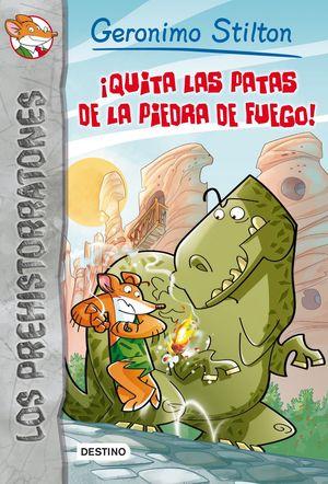 GS LOS PREHISTORRATONES 1. ¡QUITA LAS PATAS DE LA PIEDRA DE FUEGO!