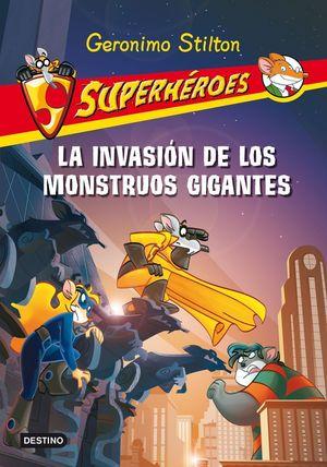 SUPERHEROES 2.LA INVASION DE LOS MONSTRUOS GIGANTE