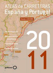 ATLAS DE CARRETERAS DE ESPAÑA Y PORTUGAL 2011