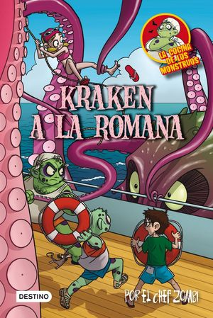 Kraken a la romana : La cocina de los monstruos 5