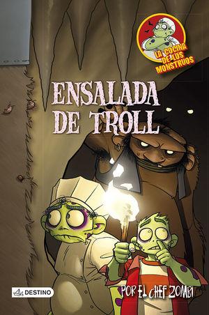 LA COCINA DE LOS MONSTRUOS 11. ENSALADA DE TROLL