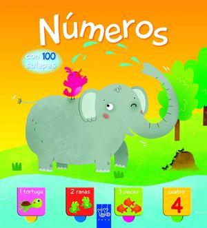 NÚMEROS. CON 100 SOLAPAS
