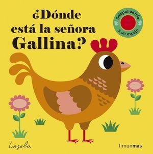 ¿DÓNDE ESTÁ LA SEÑORA GALLINA? TEXTURAS