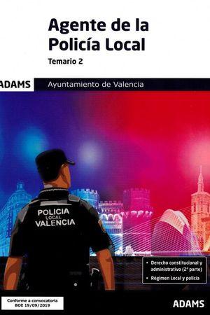 TEMARIO 2 POLICÍA LOCAL DE VALENCIA