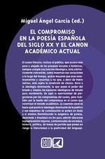 COMPROMISO EN LA POESIA ESPAÑOLA DEL SIGLO XX
