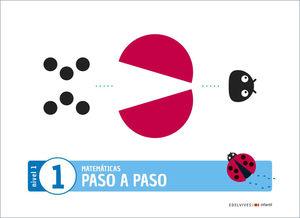 (20) 3 AÑOS PROYECTO PASO A PASO - NIVEL 1. CUADERNO 1