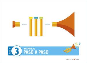 (20) 3 AÑOS PROYECTO PASO A PASO - NIVEL 1. CUADERNO 3 EDELVIVES
